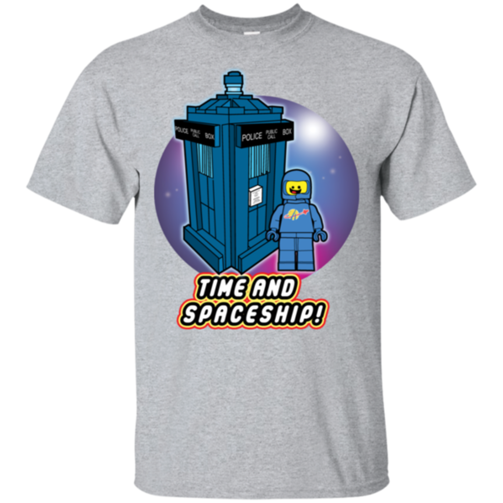 Pop-Up Tee: Time and Spaceship