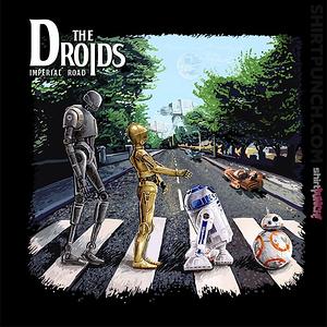 ShirtPunch: Droids