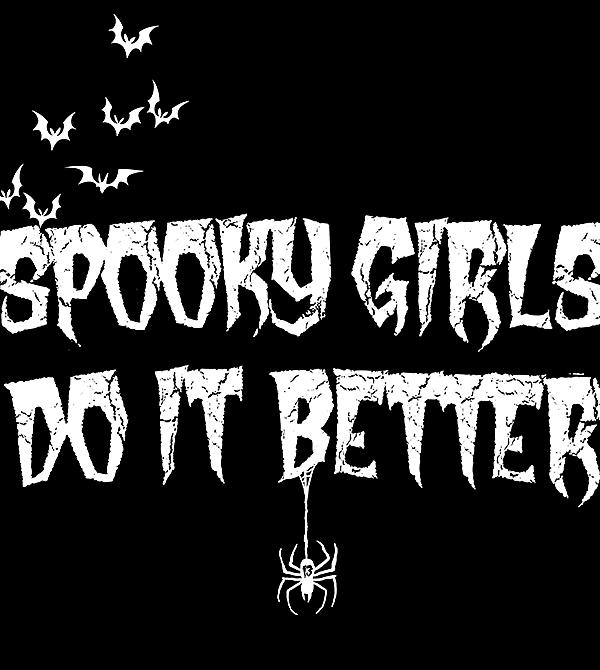 teeVillain: Spooky Girls