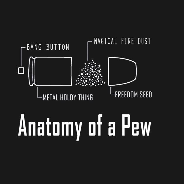 TeePublic: THE ANATOMY OF A PEW