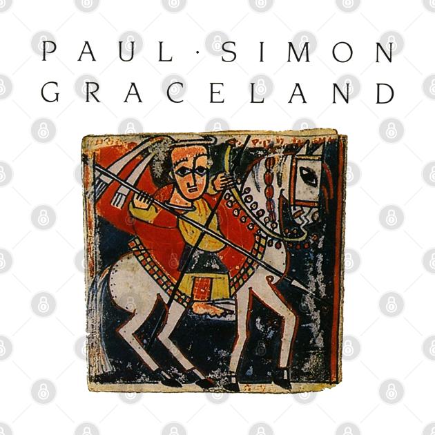 TeePublic: Paul Simon Graceland