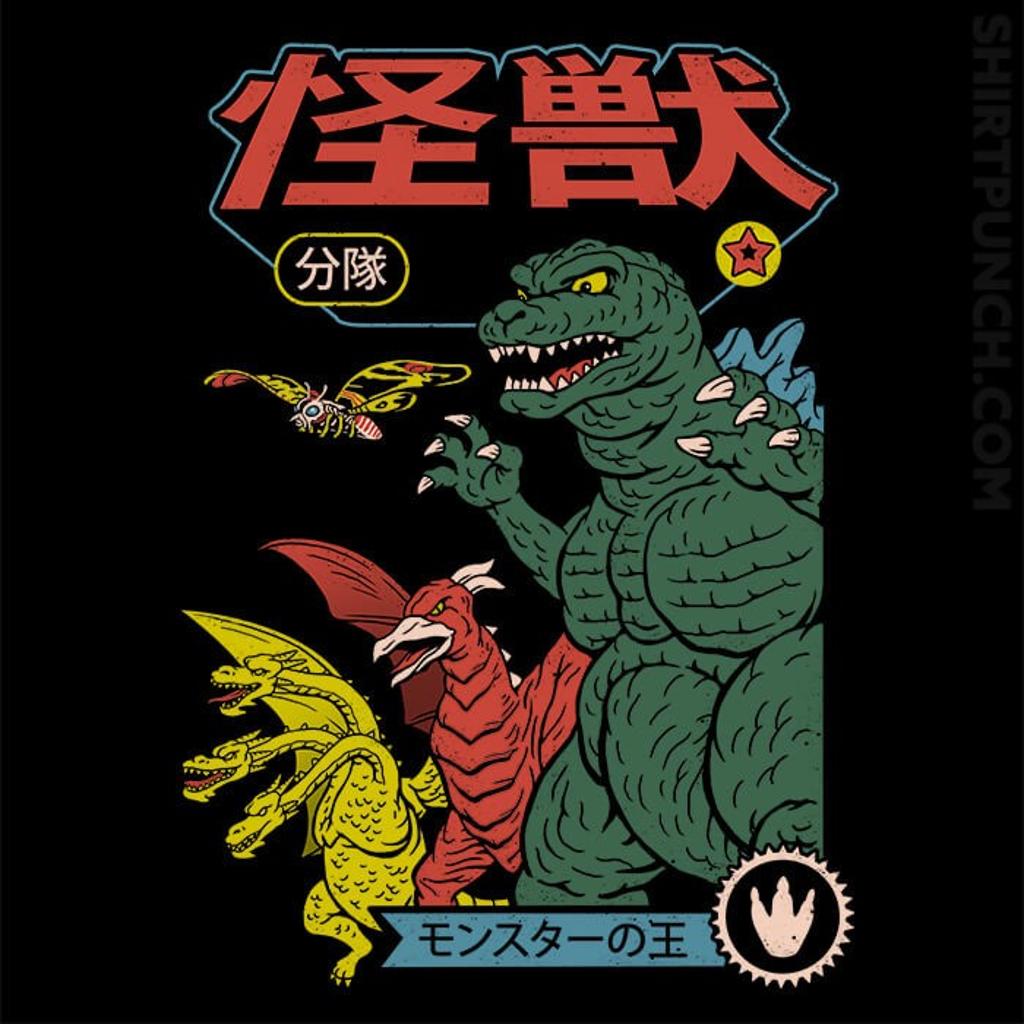 ShirtPunch: Kaiju Sentai
