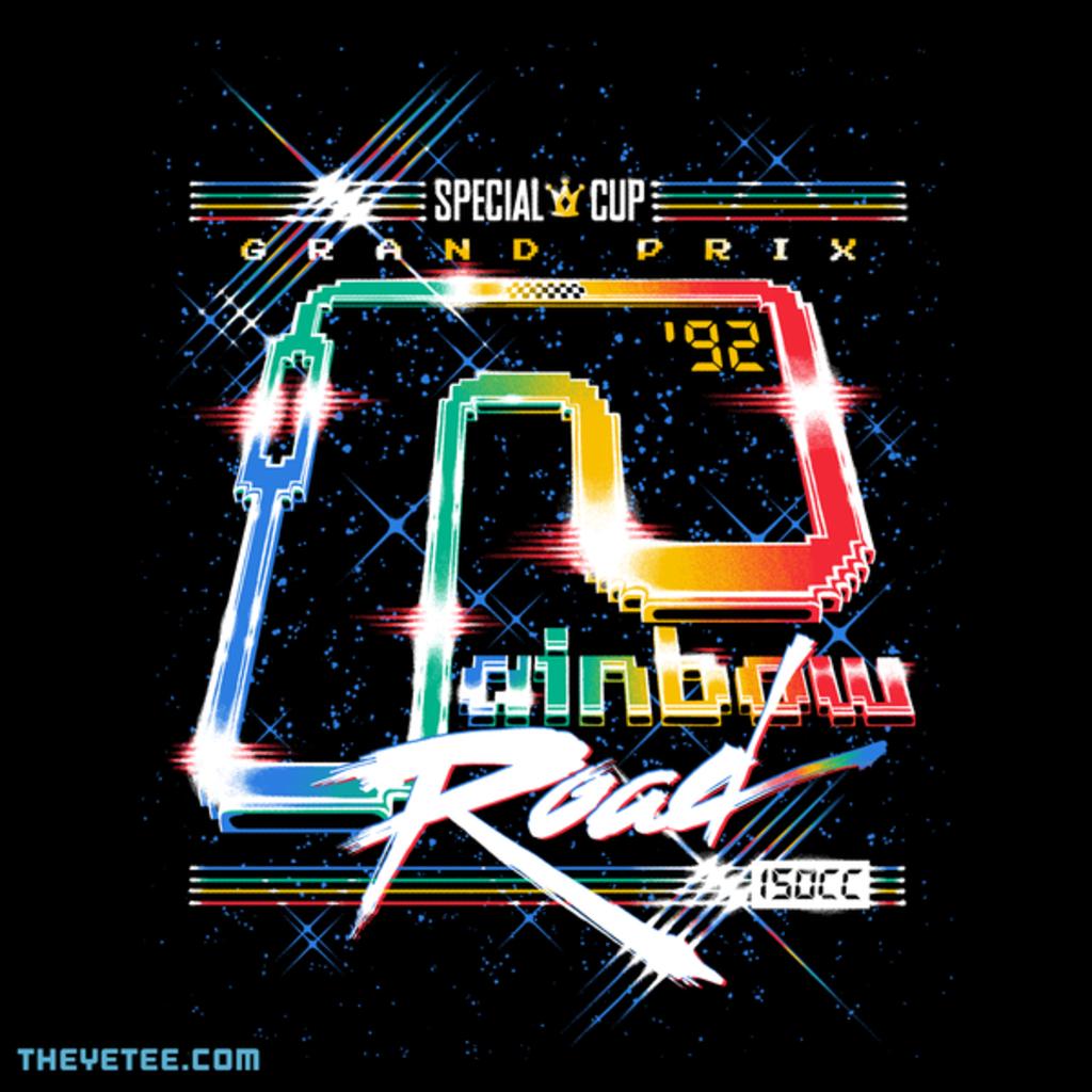 The Yetee: Rainbow Road