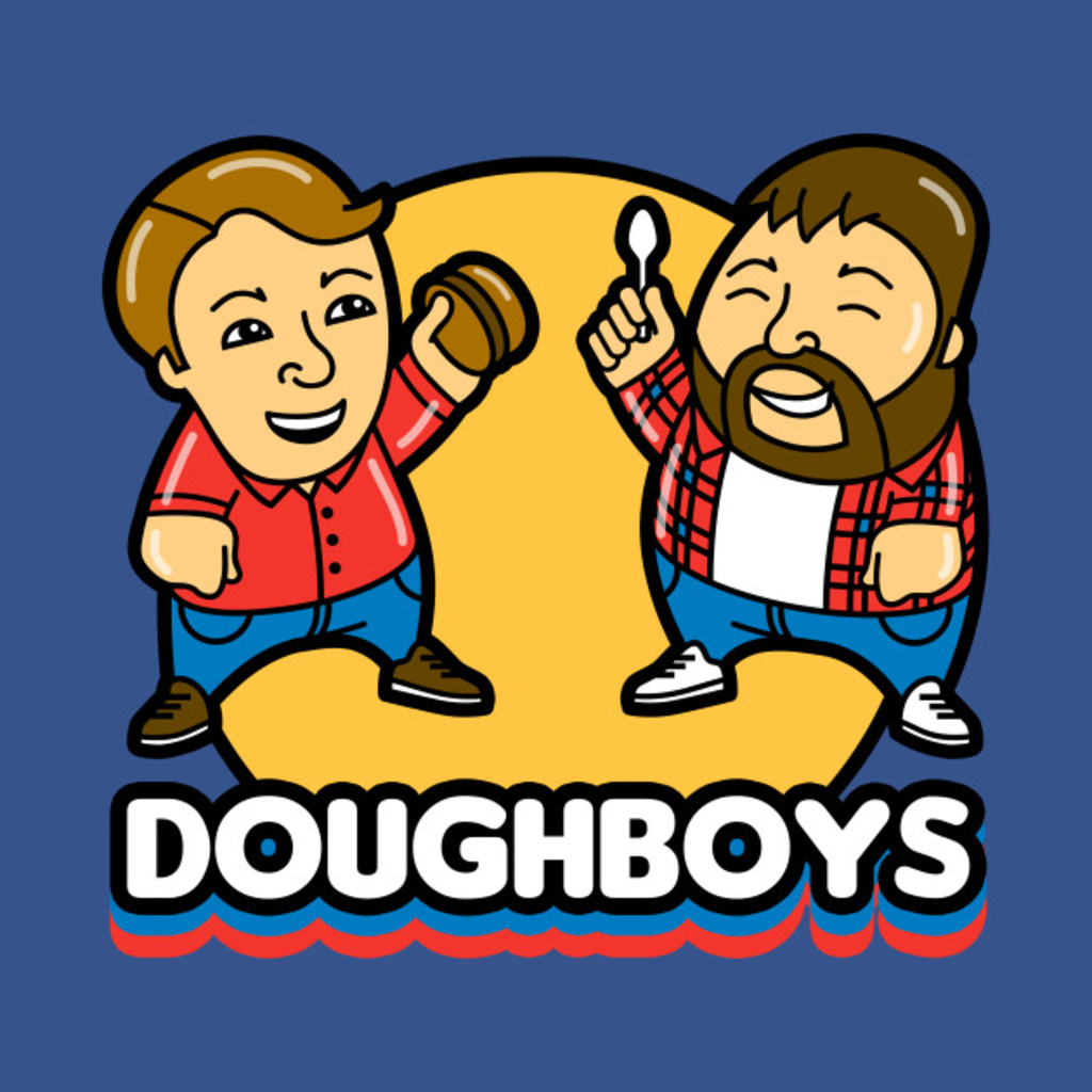 TeePublic: Doughboys 2018 Logo
