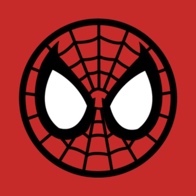 TeePublic: Spider-Man Mask Logo