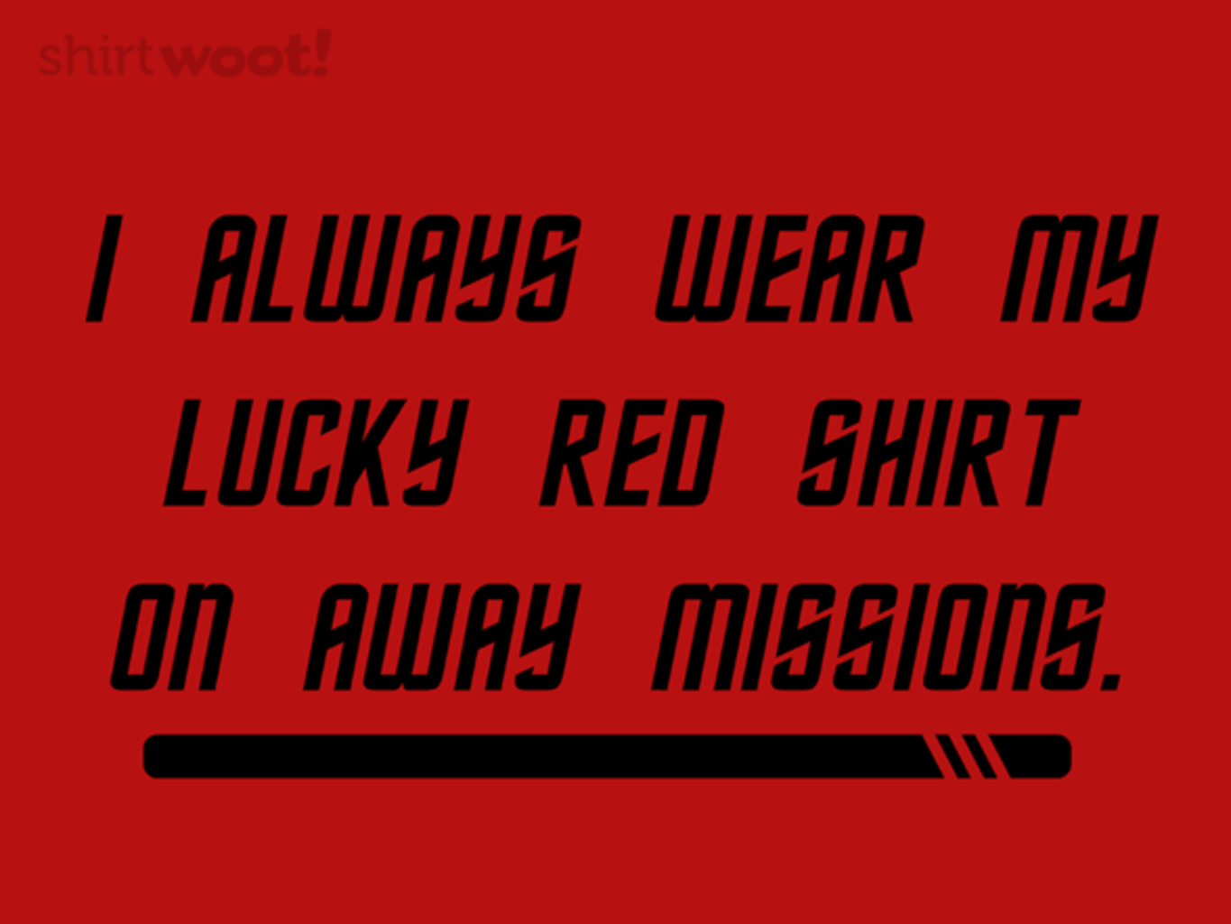 Woot!: Away Mission Superstitions - $15.00 + Free shipping