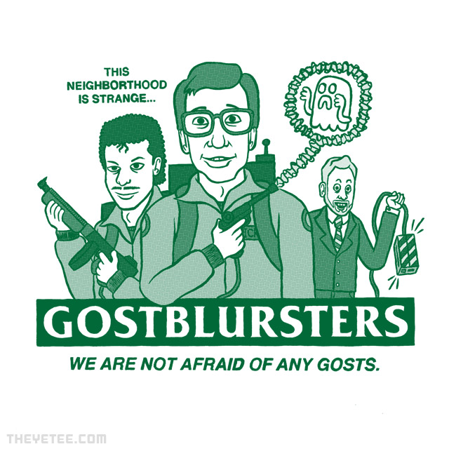 The Yetee: Gostblursters