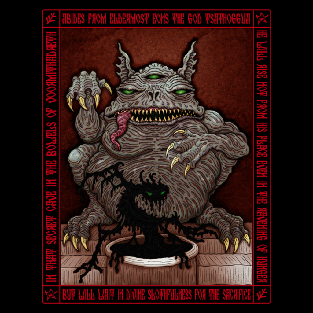 NeatoShop: Tsathoggua Icon - Azhmodai 2018