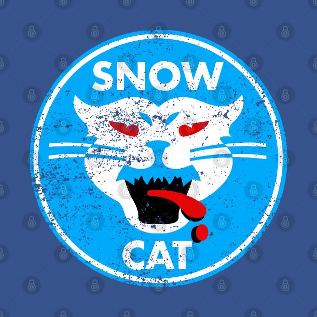 TeePublic: Snow Cat Vintage Decal