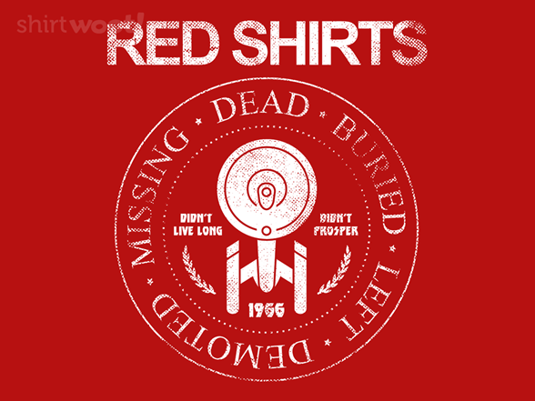 Woot!: Red Shirts on Tour