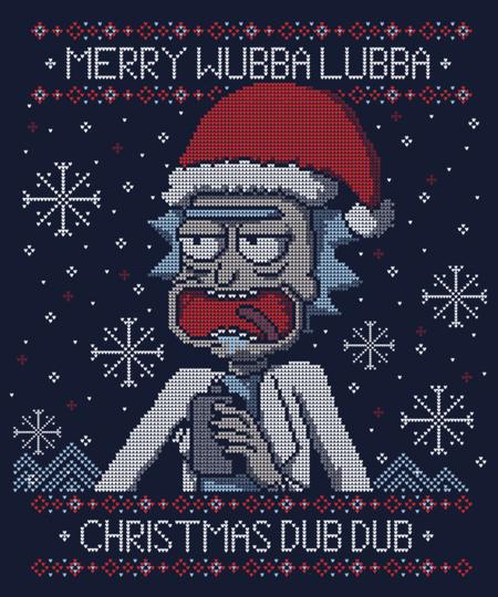 Qwertee: Merry Wubba Lubba