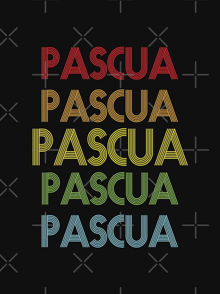RedBubble: Pascua Name - Pascua Rainbow Multi Color Gift For Family Surname Pascua Name