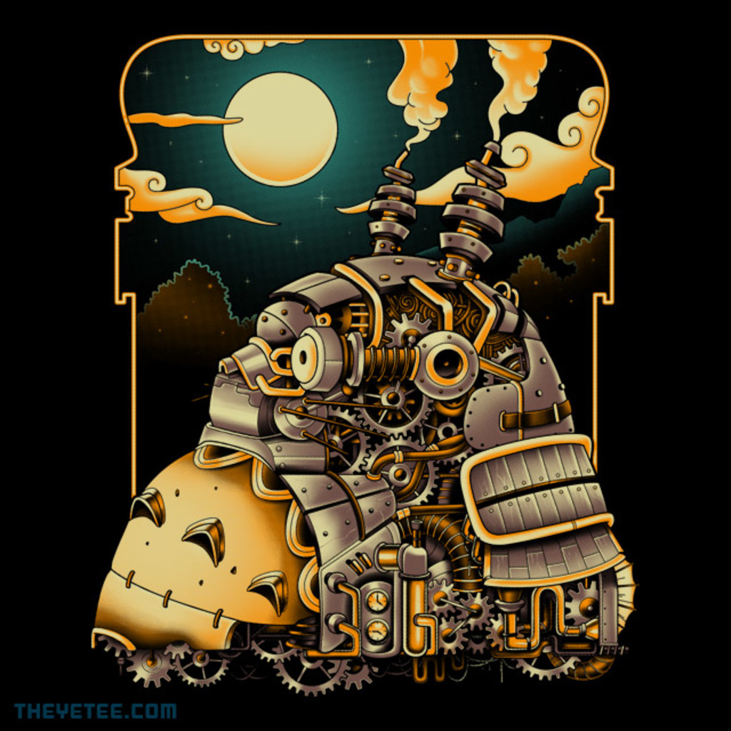 The Yetee: Steampunk Neighbor