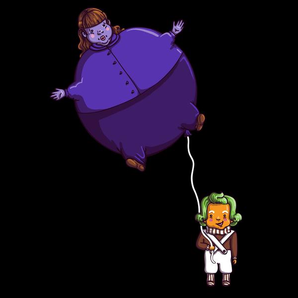NeatoShop: Too Much Bubblegum (for darker colors)