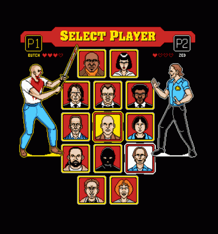 BustedTees: 8 Bit Pulp