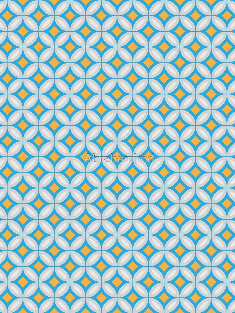 RedBubble: circle kunterbunt rings color seamless colorful repeat pattern