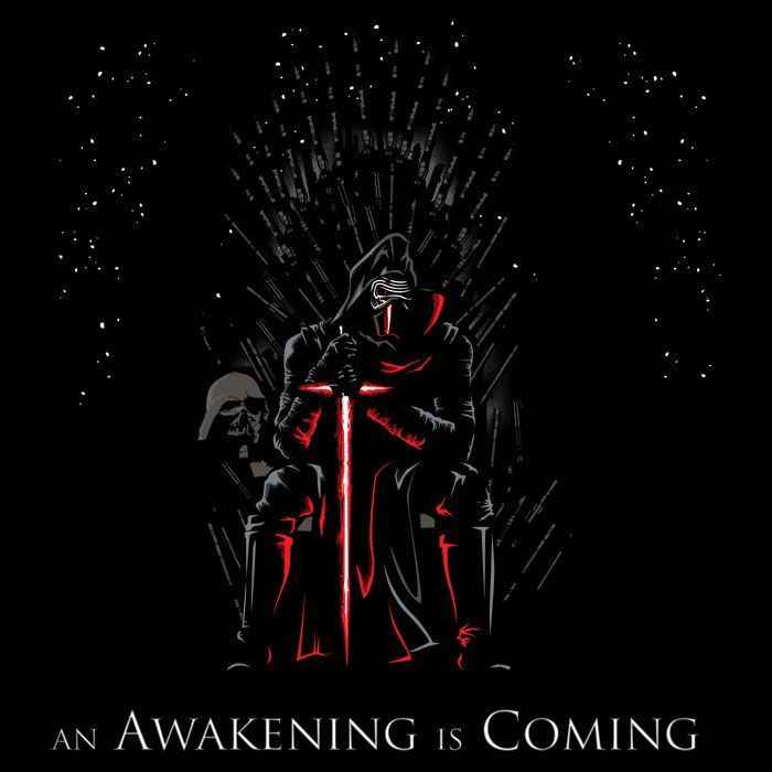 We Heart Geeks: An Awakening is Coming - Men's T-Shirt