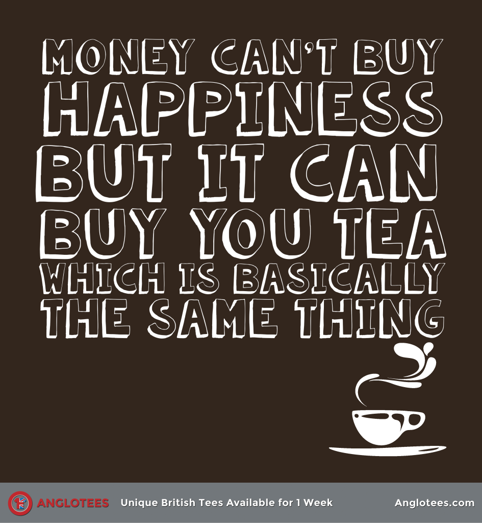 Anglotees: Happiness is Tea