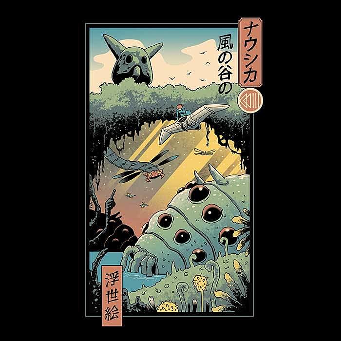 Once Upon a Tee: Wind Valley Ukiyo-e