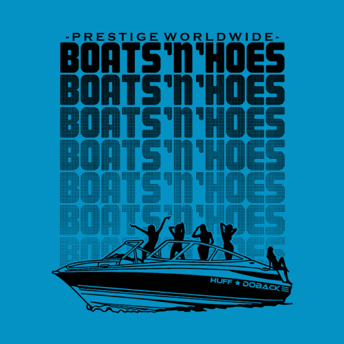 Five Finger Tees: Boats N' Hoes
