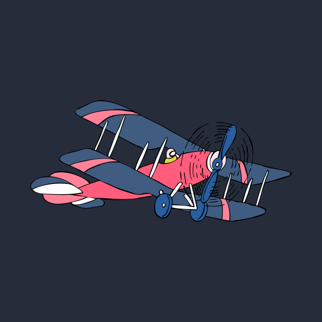 TeePublic: Plane Retro