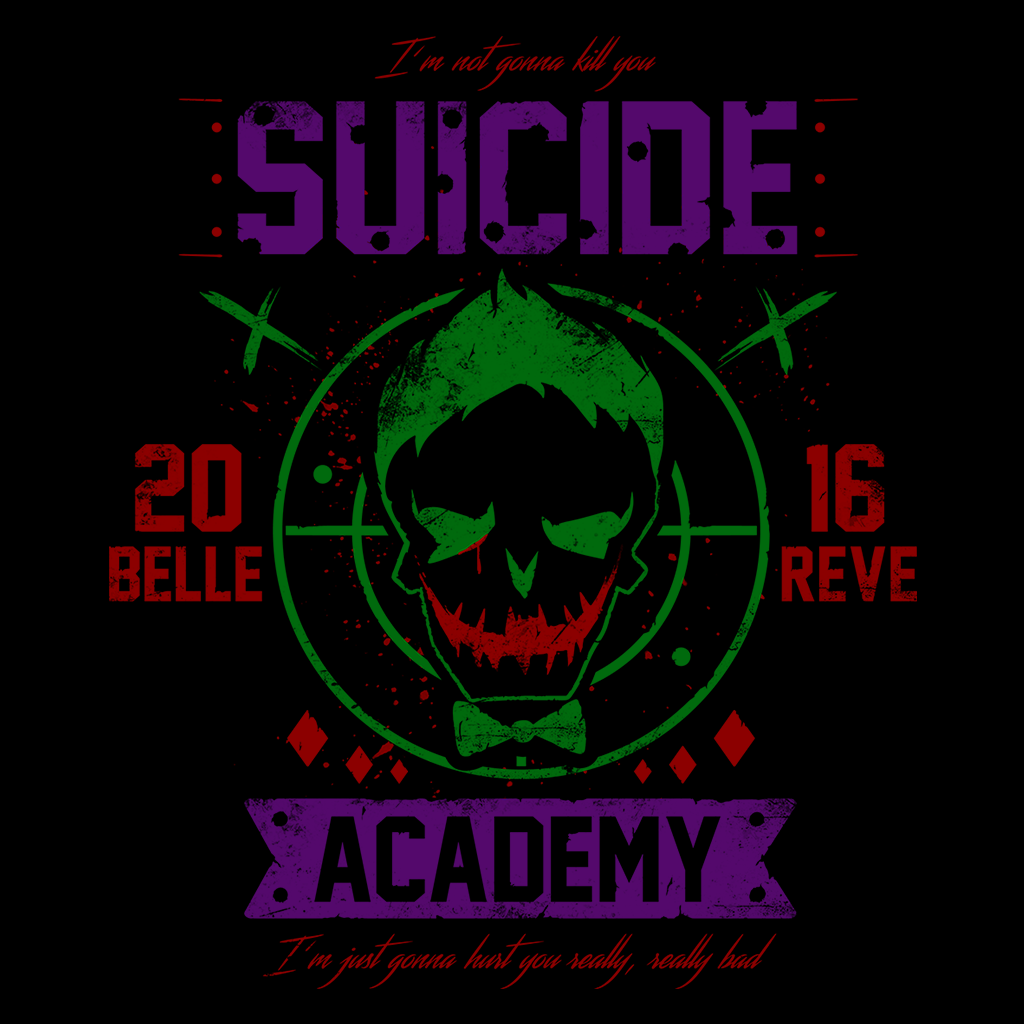 Pop-Up Tee: Suicide Academy