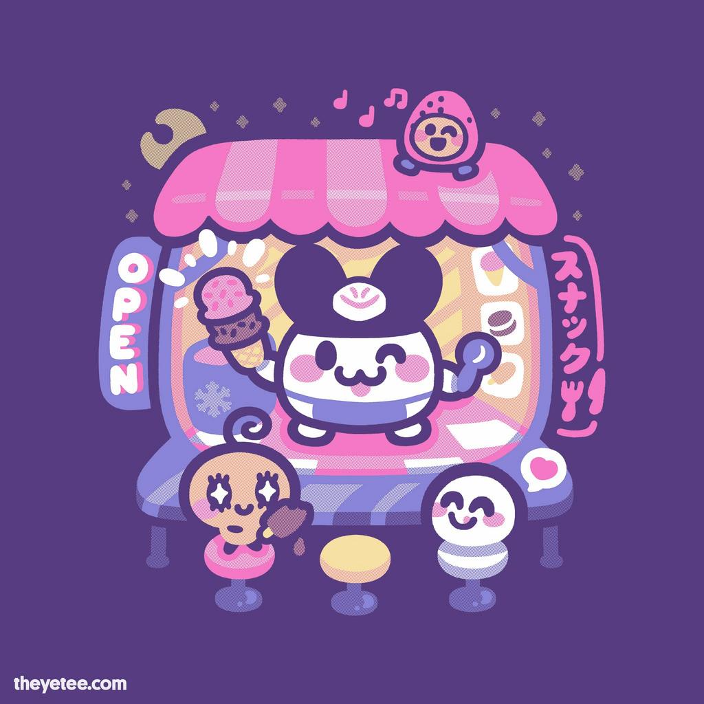 The Yetee: Ice Cream Shop