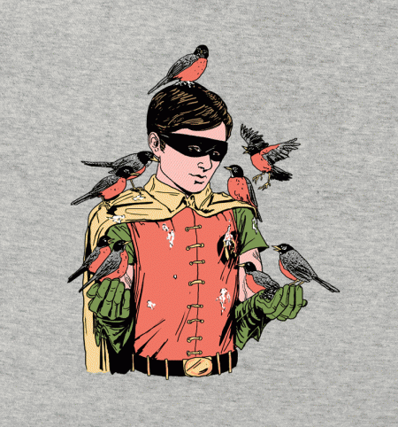 BustedTees: Crazy Bird Lady