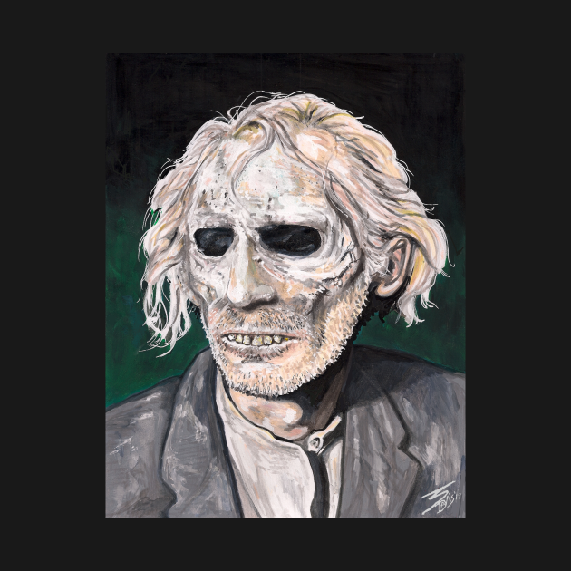 "TeePublic: Peter Cushing in ""Tales From The Crypt"""
