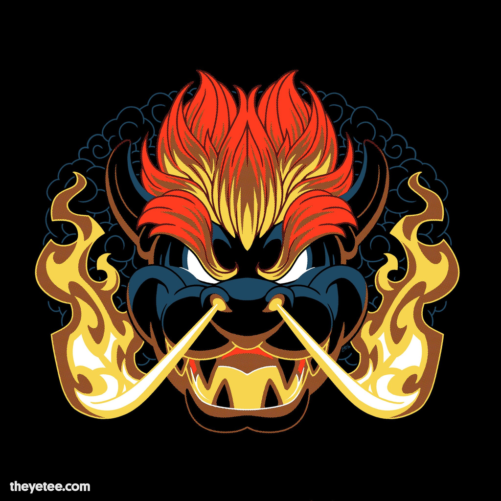 The Yetee: Turtle King Fury