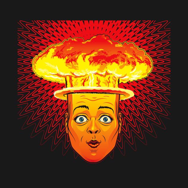 TeePublic: Atomic Head