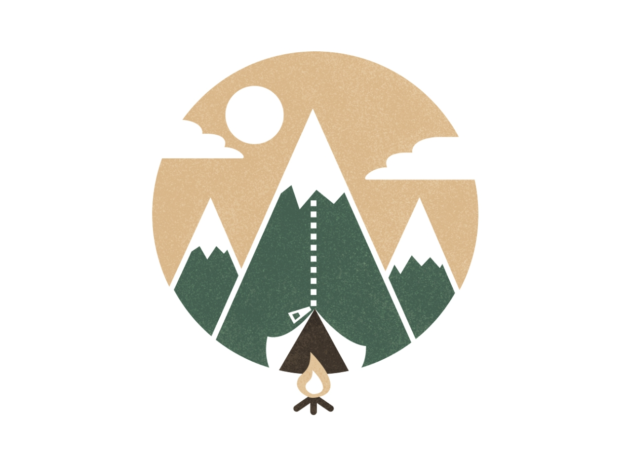 Threadless: Mountain tent