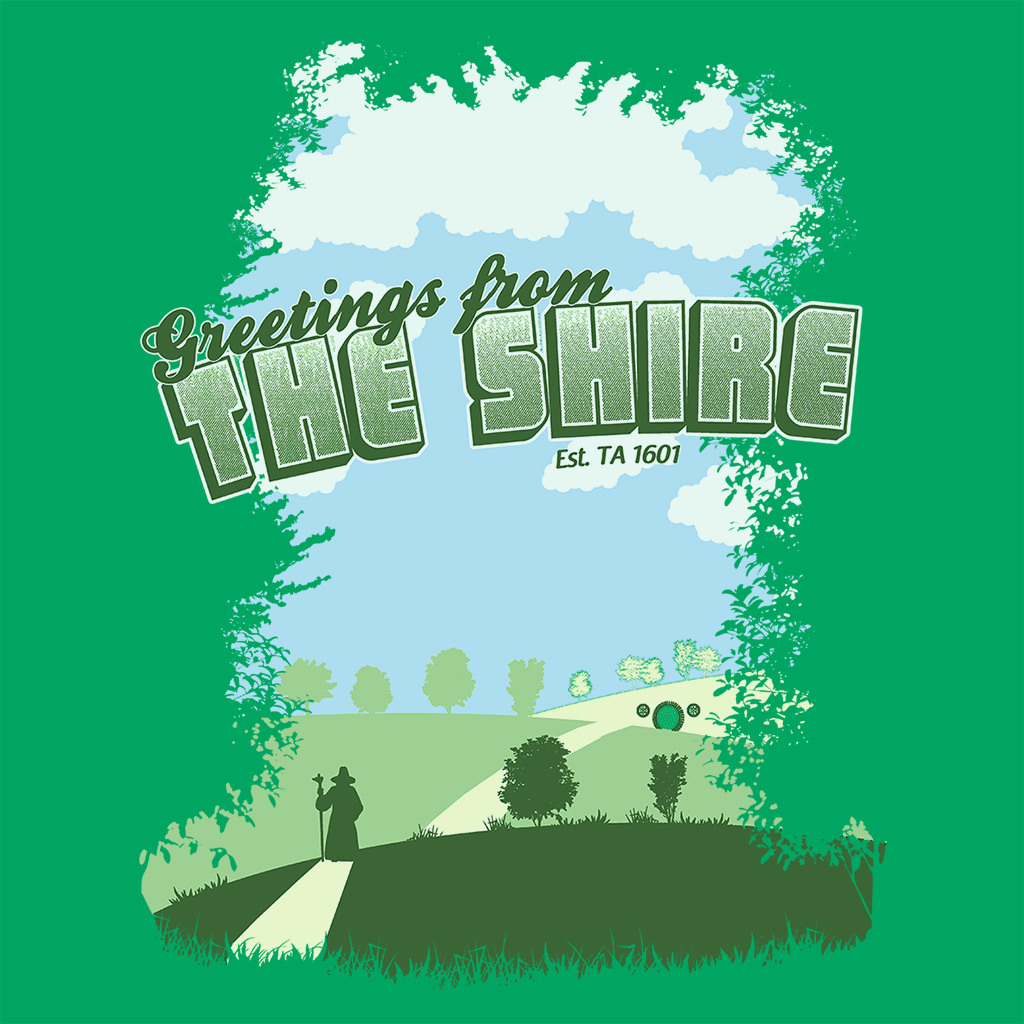 Pop-Up Tee: Greetings From The Shire
