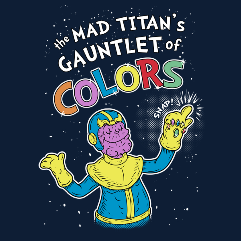 NeatoShop: The Mad Titan's Gauntlet of colors