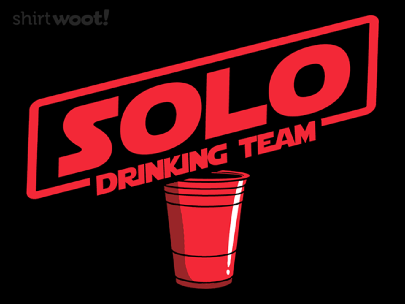 Woot!: Drinking Solo
