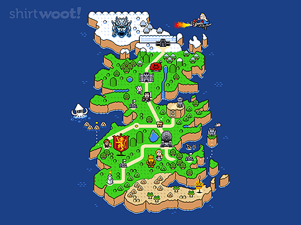Woot!: Super Thrones World