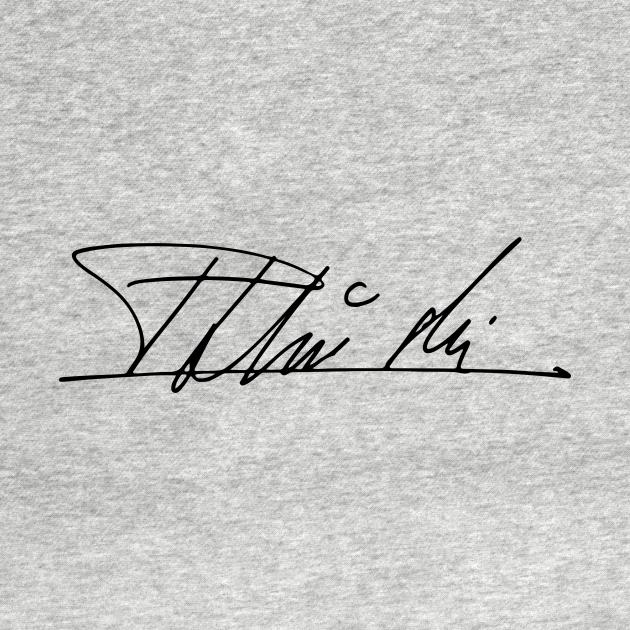 TeePublic: Roman Polanski's Signature