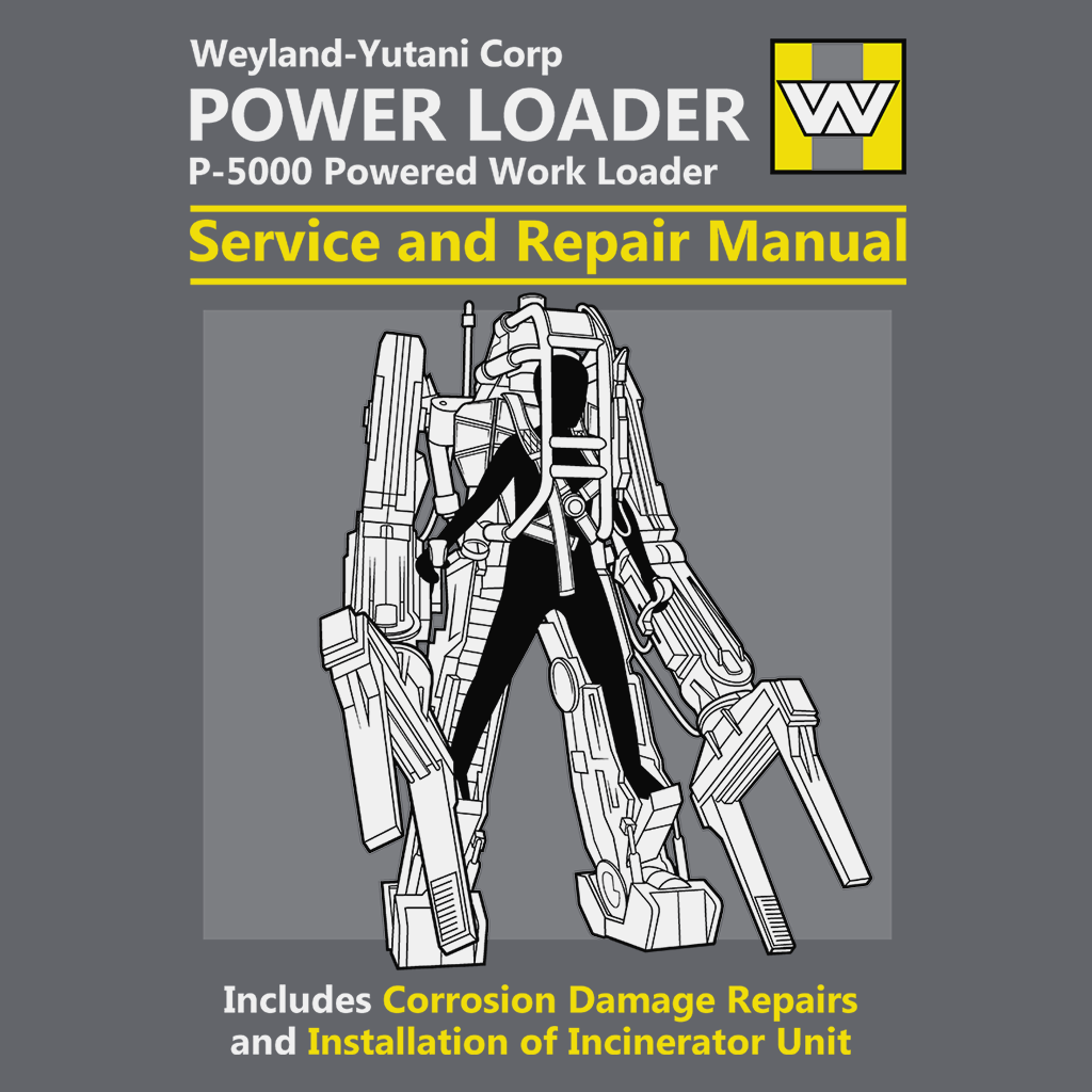 Pop-Up Tee: Power Loader Service And Repair Manual