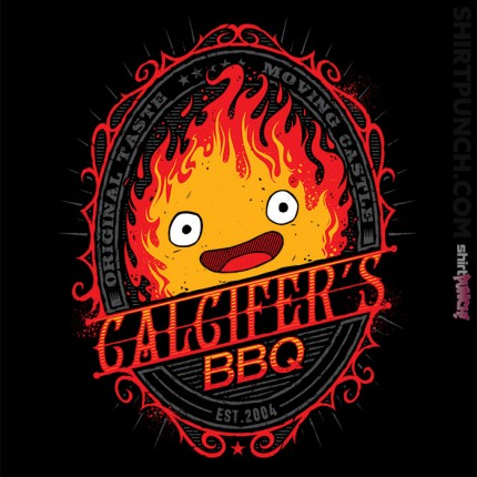ShirtPunch: Calcifers BBQ