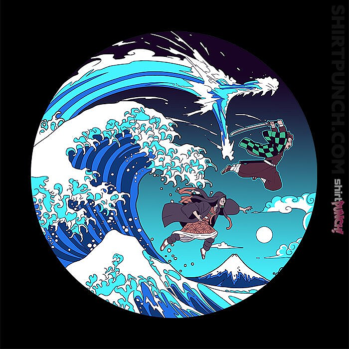 ShirtPunch: Breath Of The Great Wave