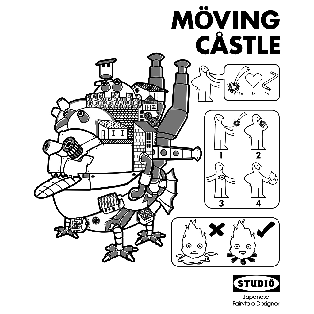 TeeTee: Möving Castle