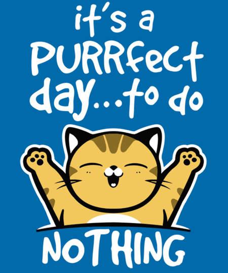 Qwertee: Purrfect day