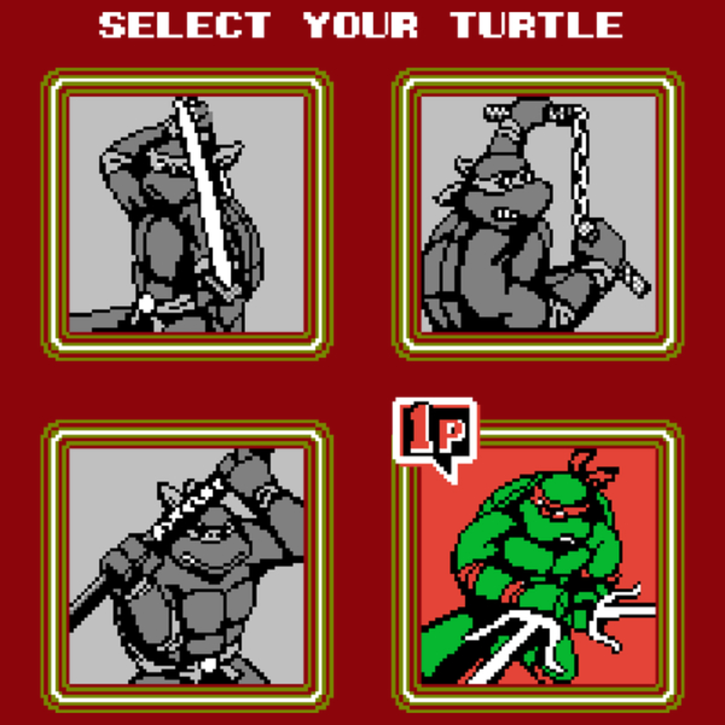 NeatoShop: TMNT - Select Your Turtle - RAPHAEL