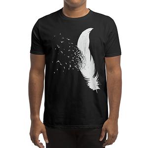 Threadless: Birds of a Feather (Black Variant)