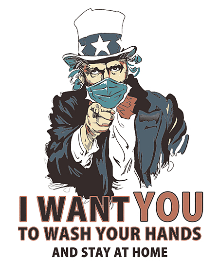Qwertee: Wash Your Hands!