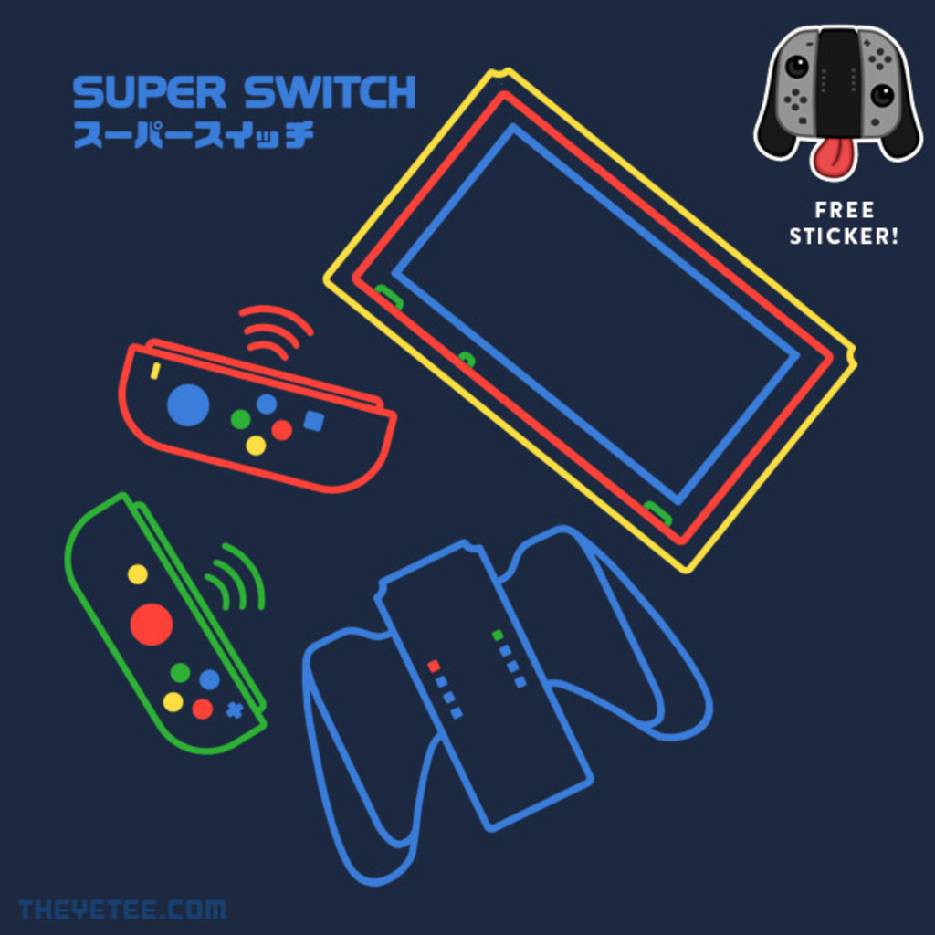 The Yetee: SUPER SWITCH