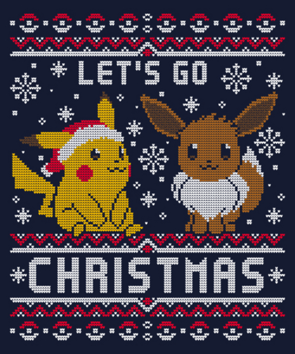 Qwertee: Let's Go Christmas
