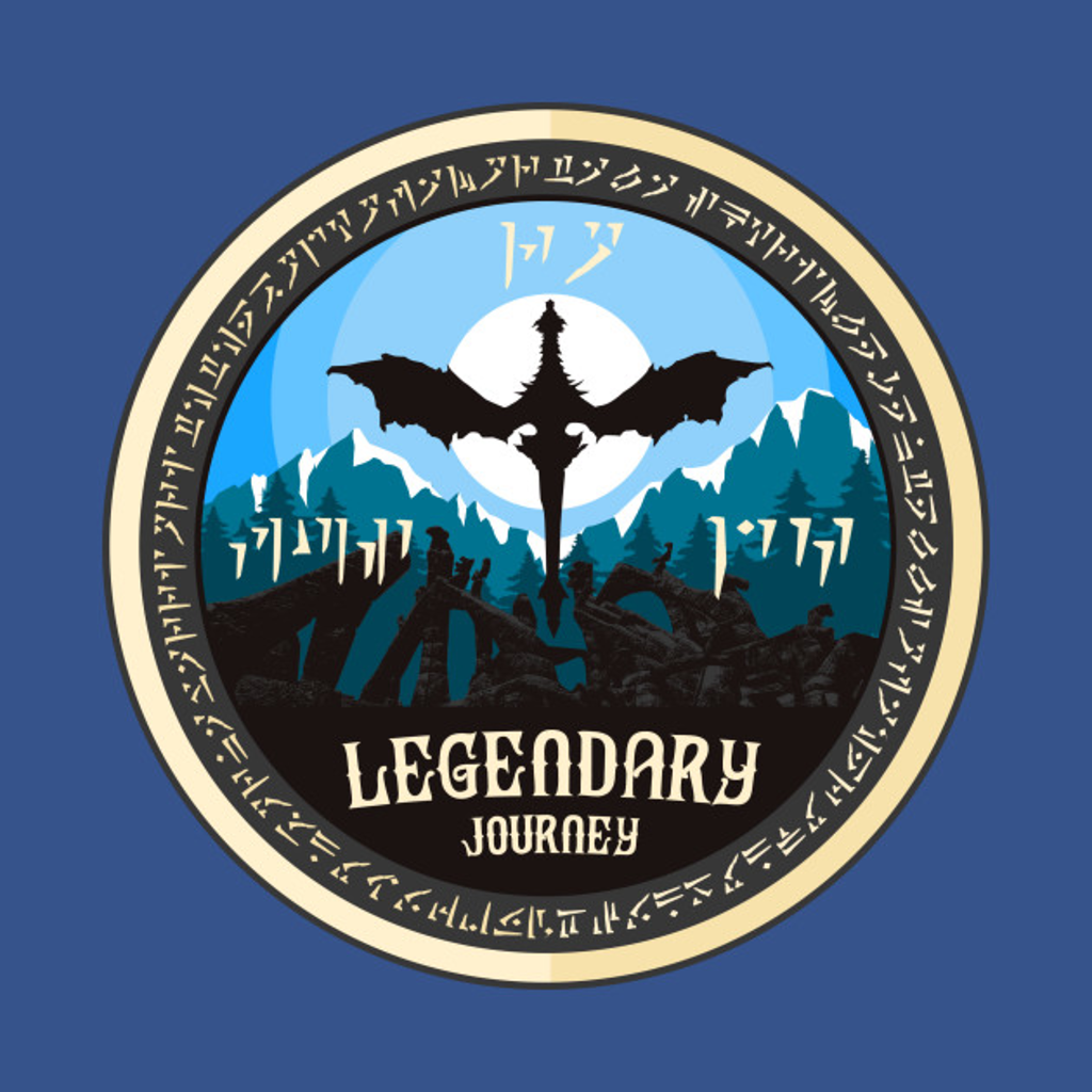 TeePublic: Legendary Journey