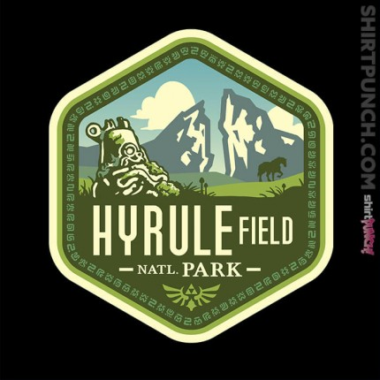 ShirtPunch: Hyrule Field National Park
