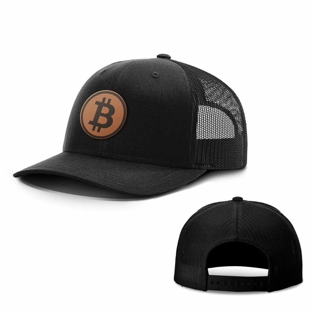 BustedTees: Bitcoin Leather Patch Hats
